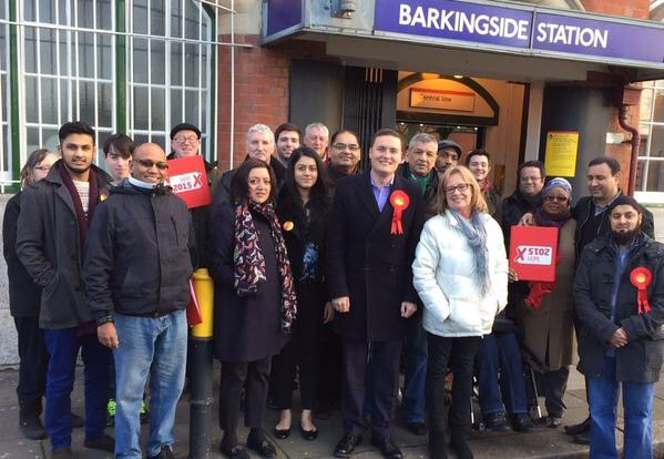 Wes Streeting is standing for Labour in Ilford North.